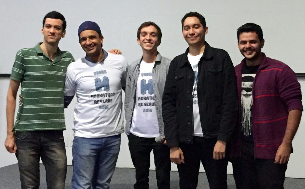 Os vencedores do 1o. Hackathon Reserve 2016