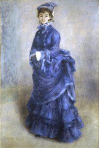 La parisienne - Auguste Renoir