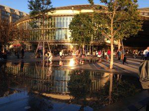 Fim de tarde Forum Les Halles - Paris