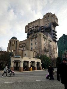 O Elevador da Morte Hollywood Tower - Disney Studios