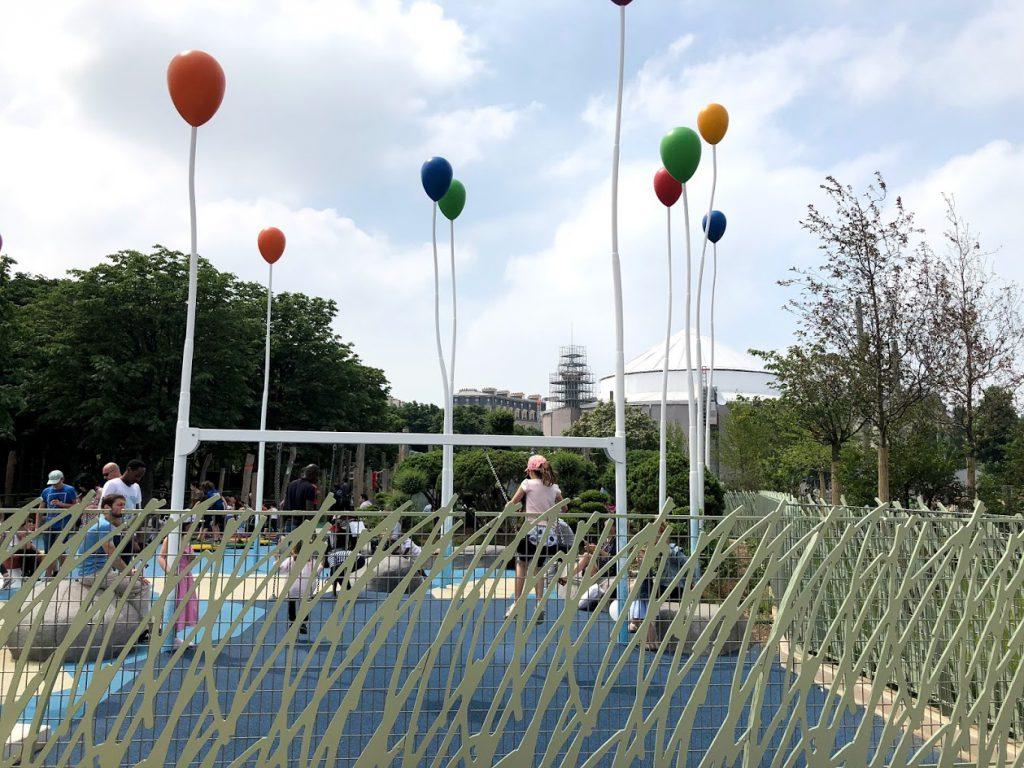 Parque para os pequenos e seus pais, Les Halles - Paris