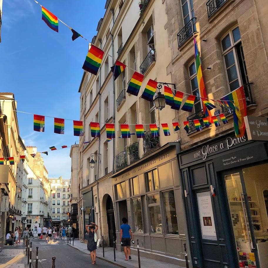 paris LGBT Le Marais