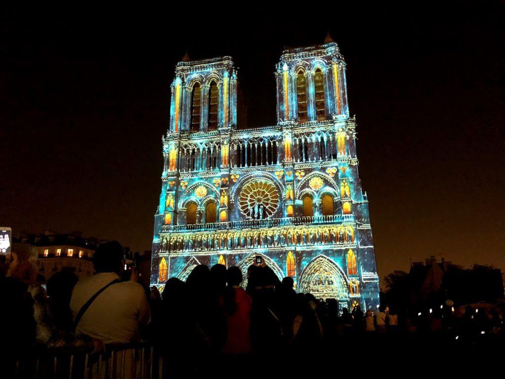 Notre Dame de Paris de 18 a 25 outubro Dame de Coeur