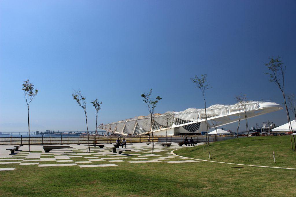 O novo Museu do Amanhã, na Praça Mauá