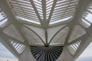 Detalhe do prédio do novo museu / Foto de Carla Lencastre