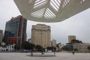 A Praça Mauá vista do Amanhã / Foto de Carla Lencastre