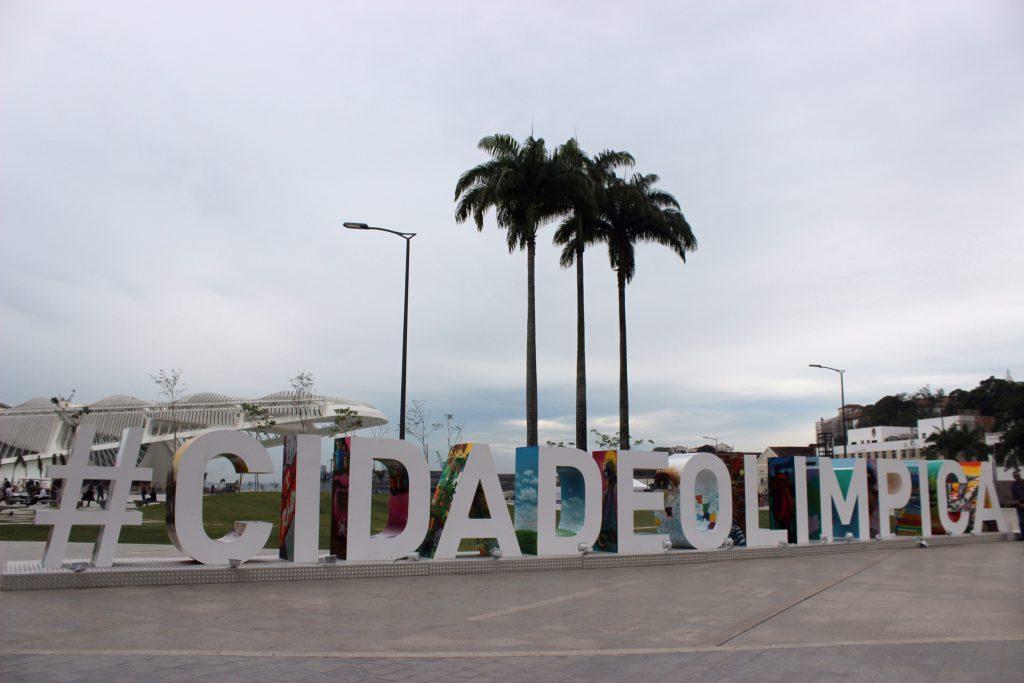#cidadeolimpica / Foto de Carla Lencastre