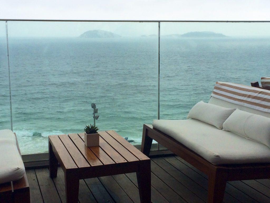 As Cagarras vistas do terraço / Foto de Carla Lencastre