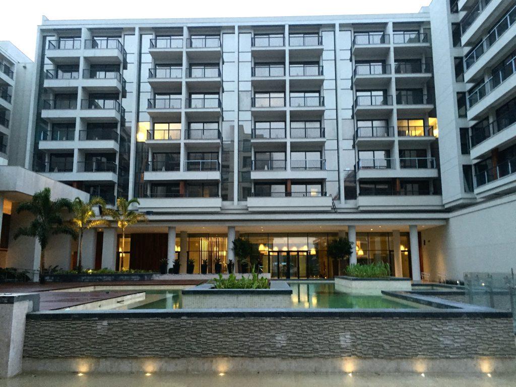 Parte da área interna no hotel /Foto de Carla Lencastre