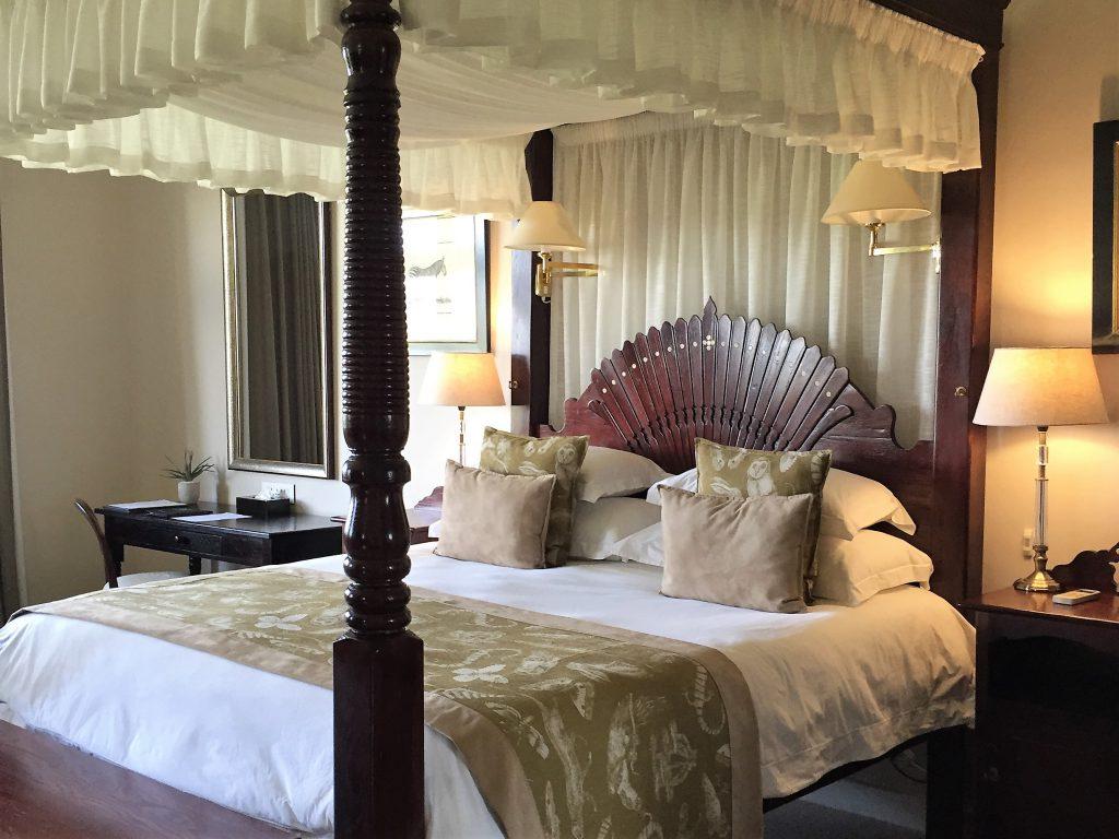 Lodge em reserva de safári na África do Sul