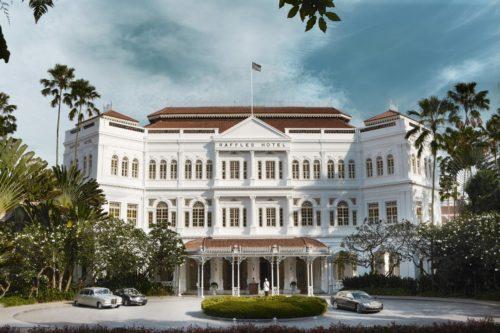 Fachada Raffles Singapore, Singapura