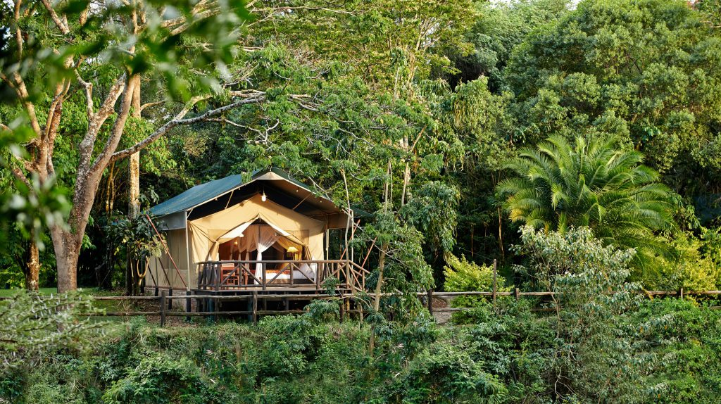 Fairmont Mara Safari Club tent