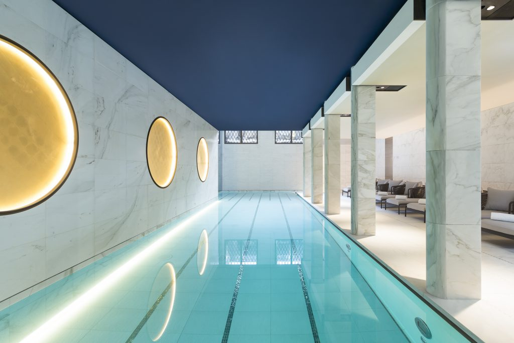 Piscina Spa Hotel Lutetia Paris