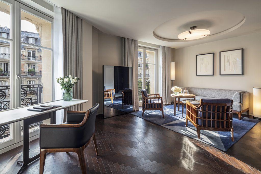 Sala Living Room Suite Hotel Lutetia Paris