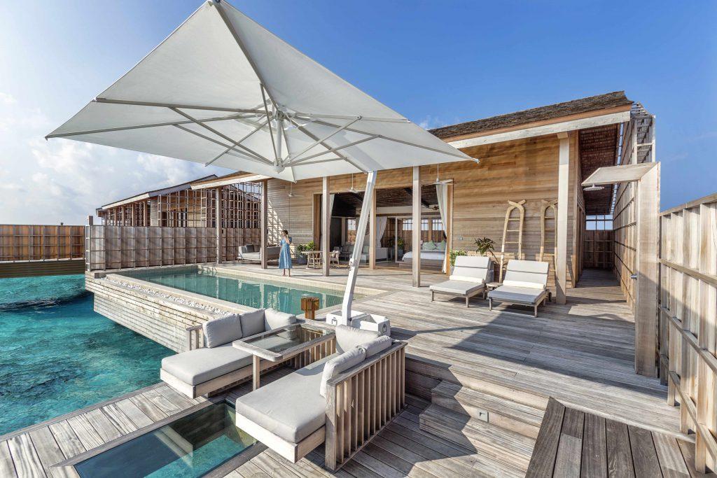 Villa com piscina do Kudadoo Maldives, nas Maldivas