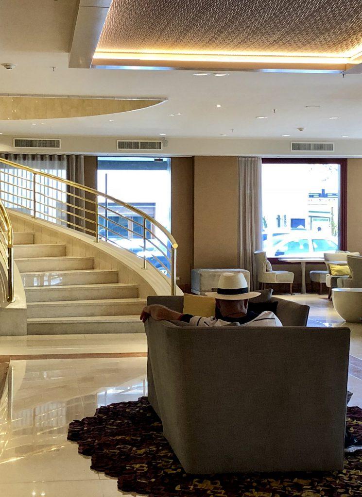 Lobby hotel Grand Brizo Buenos Aires