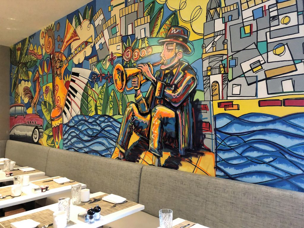 Restaurante Caña Hyatt Centric Brickell Miami