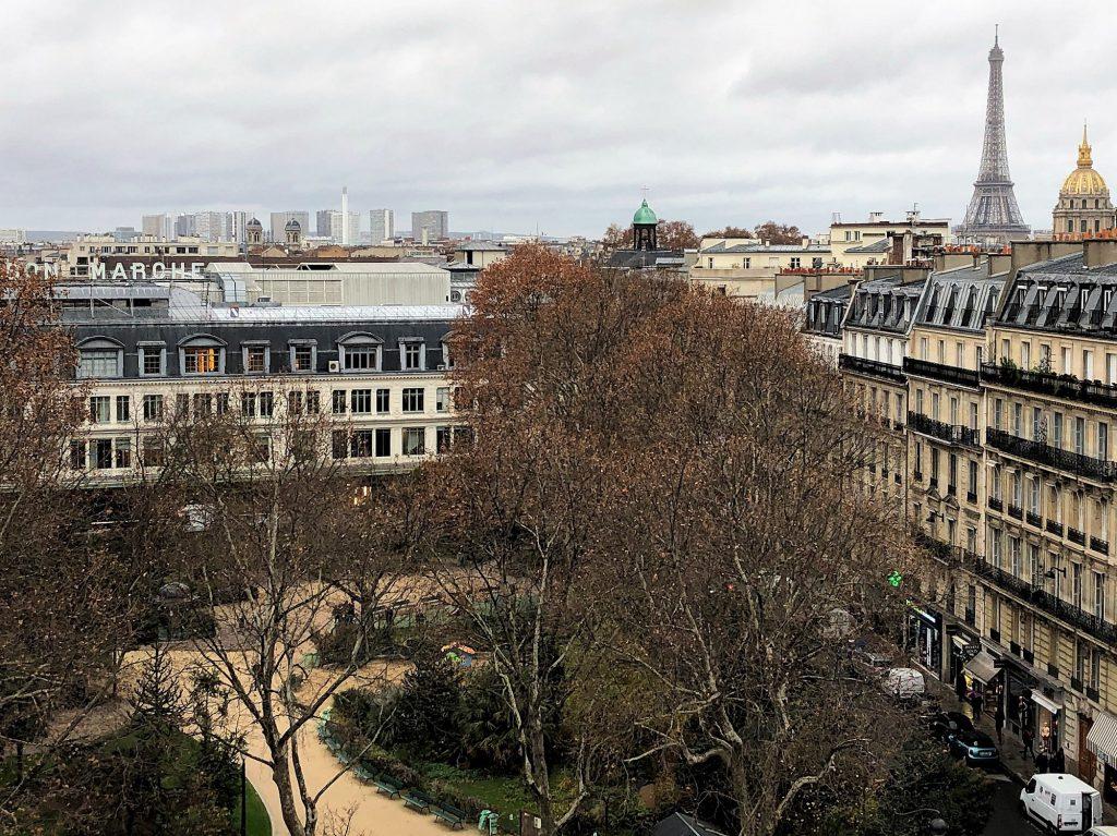 Vista Hotel Lutetia Paris