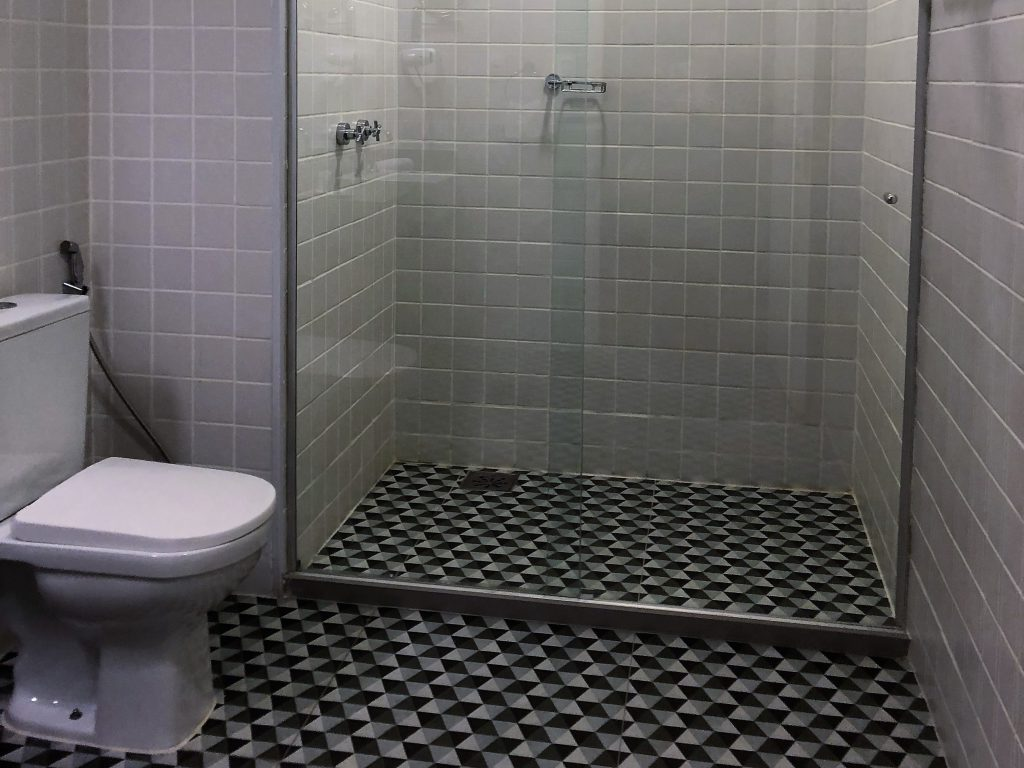 Banheiro do Selina Lapa Rio