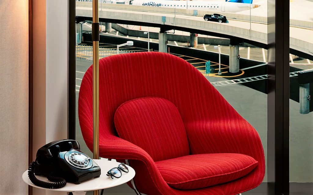 Womb Chair Saarinen TWA Hotel at JFK