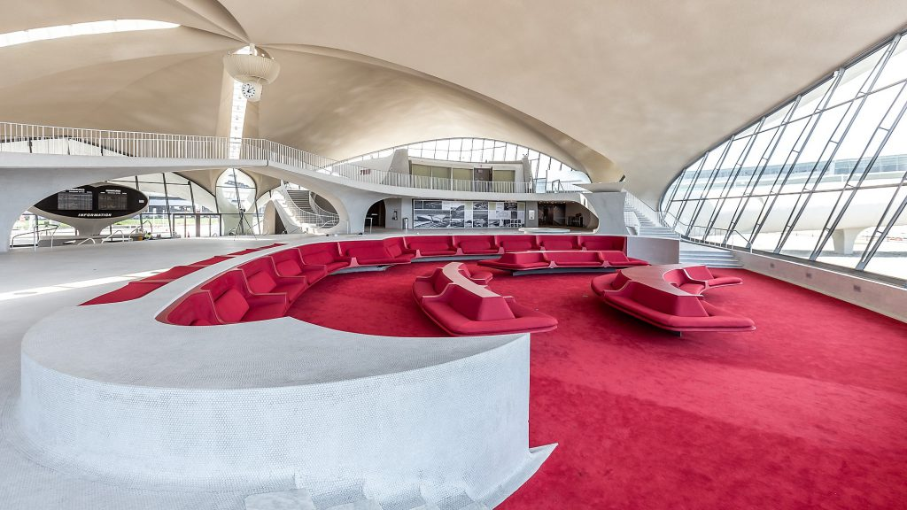 Sunken Lounge TWA Hotel at JFK