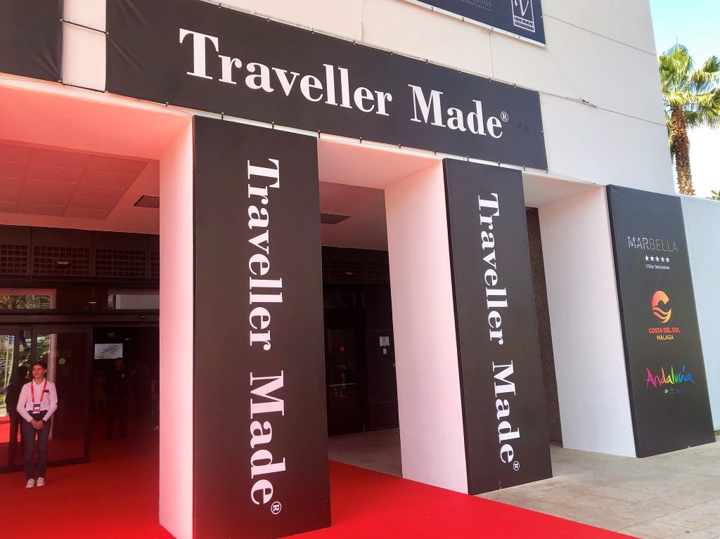 A entrada principal do EOL 2019, evento da Traveller Made